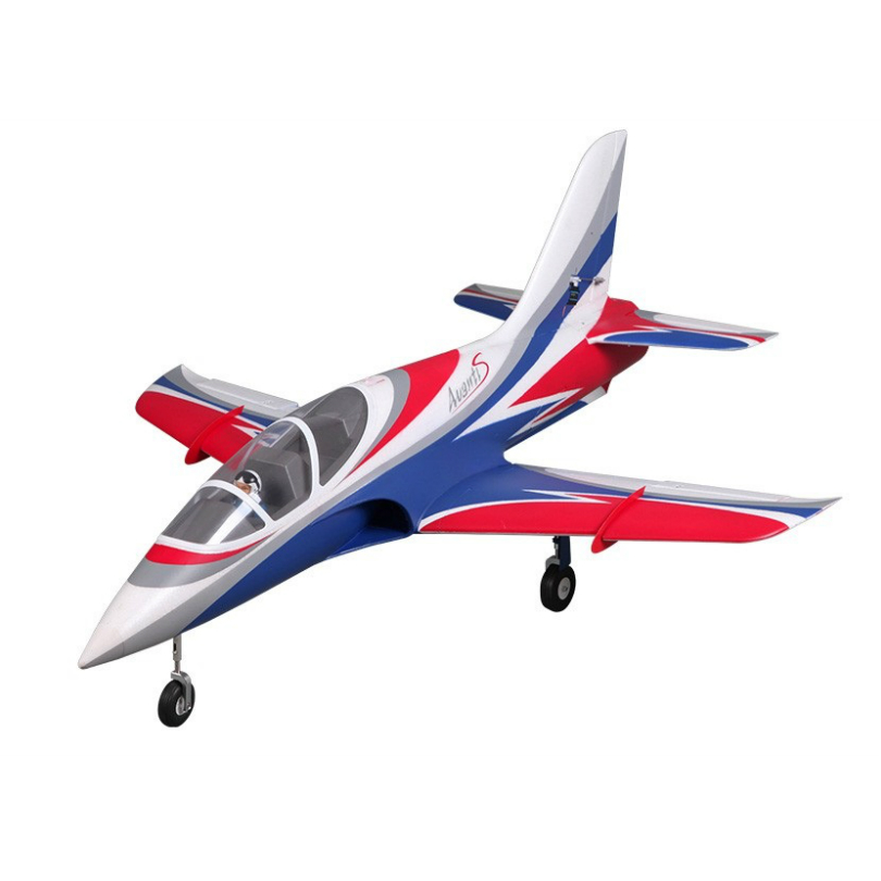 FMS Avanti S 70mm Jet PNP 4S White/Red/Blue classic RC JET Airplane